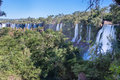 Foz do Iguassu Falls Royalty Free Stock Images