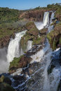 Foz do Iguassu Falls Stock Photography