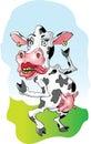 Fräulein Cow Lizenzfreie Stockbilder