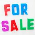 Für Verkauf Lizenzfreie Stockbilder