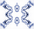 Fractal abstrato do fumo Fotos de Stock Royalty Free