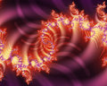 Fractal Arcs Royalty Free Stock Photo