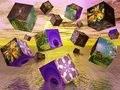 Fractal cubes Royalty Free Stock Photo