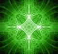 Fractal Green Star