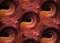 Fractal pattern background Royalty Free Stock Photo