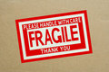 Fragile Royalty Free Stock Images