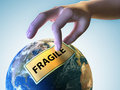 Fragile Earth Royalty Free Stock Photo