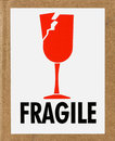 Fragile Label Royalty Free Stock Photo