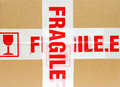 Fragile Package Royalty Free Stock Photo