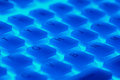 Fragment of backlit flexible keyboard Royalty Free Stock Images