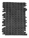 Fragment of the brick wall. Royalty Free Stock Photo