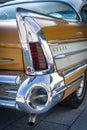 Fragment of Buick Super Rivera (rear brake lights), 1958. Royalty Free Stock Photo