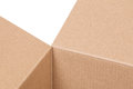 Fragment of a cardboard box abstract background Stock Photos