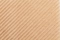 Fragment of corrugated carton. Royalty Free Stock Photo
