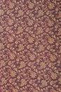 Fragment of Indian pashmina shawl pattern Royalty Free Stock Photo