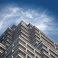 Fragment of modern building under construction Royalty Free Stock Photos