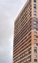 Fragment of modern residential building. Royalty Free Stock Photo