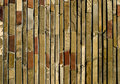 Fragment of mosaic wall Royalty Free Stock Photo