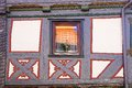 Fragment old fahverk house alsfeld germany Royalty Free Stock Images