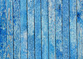 Fragment Of An Old Fence. Crac...