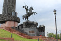A Fragment Of The Victory Monument In The Victory Park On Poklonnaya Hill. Moscow