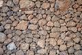 Volcanic stones background Royalty Free Stock Photo