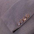 Fragment of wool men's suit Royalty Free Stock Photo