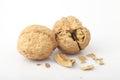 The fragmentation of the walnut
