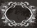 Frame artistic design Royalty Free Stock Photos