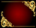 Frame Background With Gold(en)...