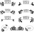 Frame black and white frames patterns Stock Image