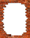 Frame with brick Stock Images