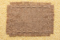 Frame Of Burlap  Lying On A Mi...