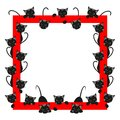 Frame With Cats