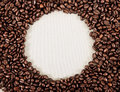 Frame coffee beans your design Royalty Free Stock Photo