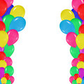 Frame Of Colorful Balloons In ...