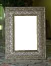 Frame a decorative picture Royalty Free Stock Image