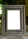 Frame a decorative picture Royalty Free Stock Photography