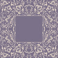 Frame fancy flower. Floral background Royalty Free Stock Photo
