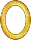 Frame Gold - 5 Royalty Free Stock Image