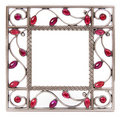 Frame isolated on the white background Royalty Free Stock Photo