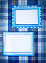 Frame made of paper Royalty Free Stock Image