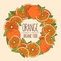 Frame oranges