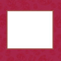 Frame in rose tones Royalty Free Stock Photography