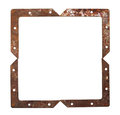 Frame of rusty metal Royalty Free Stock Photos