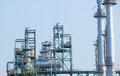 Frame structure of heavy petrochemical industry in petroleum ene energy industrial estate Royalty Free Stock Photos