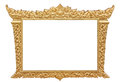 Frame of Thai ancient art Stock Image