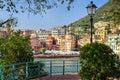 Framed Genoa Royalty Free Stock Photo