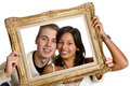 Framed love Stock Photography