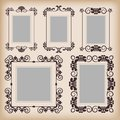Frames retro Stock Photography